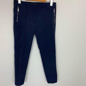 Zara Navy Blue Skinny Pants Small